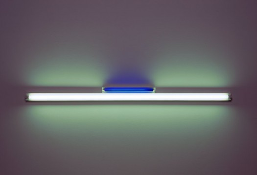 Artist: Dan Flavin (1963). Size: 8 x 96 x 4 inches. Part of the Walker Art Center collection